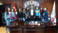 GÜLÜÇ - Gülüçlü Genç Kızlar Başkan Demirtaş'a Teşekküre Geldi