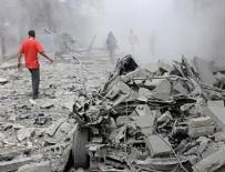 SAVAŞ UÇAĞI - Halep'te namaz vakti cami bombalandı!