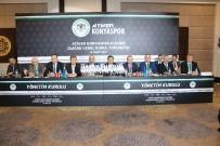 ERCAN YILMAZ - Konyaspor Başkanı Şan Güven Tazeledi