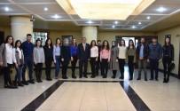 ADNAN MENDERES ÜNIVERSITESI - Nazilli Ticaret Odası Proje Ekibi Başkan Alıcık'ı Ziyaret Etti