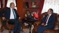 HACIBEKTAŞ VELİ - NEÜ Rektörü Bağlı, Belediye Başkanı Ünver'i Ziyaret Etti