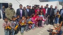 DOĞANCA - Samsat Kaymakamı Yıldırım, Köylerdeki Depremzedeleri Çadırlarında Ziyaret Etti
