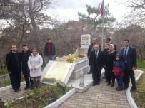 KOCA SEYİT - SGK Personeli, Çanakkale Kahramanı Koca Seyit'i Mezarı Başında Andı