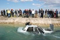 SUDAN - Sürücüsü Kalp Krizi Geçiren Otomobil Sulama Kanalına Uçtu