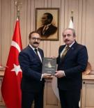 MUSTAFA ŞENTOP - TBMM Anayasa Komisyon Başkanı Şentop'tan Rektör Gür'e Nezaket Ziyareti