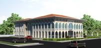 İNŞAAT ALANI - Yazıhan Kültür Merkezinin Kaba İnşaatı Tamamlandı