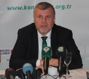KONYASPOR - Ahmet Şan, Aykut Kocaman'a sahip çıktı