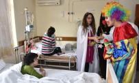 ALAADDIN KEYKUBAT - Alanya Belediyesi Ve ALKÜ'den Minik Hastalara Anlamlı Ziyaret