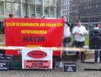 Almanya'da PKK hayır standı kurdu