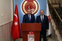 SELÇUK COŞKUN - Anayasa Komisyonu Başkanı Şentop'tan, Vali Ustaoğlu'na Ziyaret