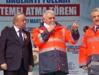 OVİT TÜNELİ - Binali Yıldırım Yeni Zigana Tüneli'nin temelini attı