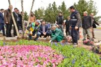 HERCAI - Başkan Atilla, Çanakkale Şehitleri İçin Yapılan Çalışmaları Denetledi