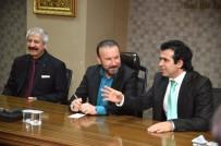 FEDERASYON BAŞKANI - Başkan Doğan, Türkiye Romanlar Konfederasyonu Başkanı Ve Beraberindeki Heyeti Makamında Ağırladı