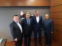 TAPU KADASTRO - Başkan Duymuş Ve Meclis Üyeleri Ankara'da Temaslarda Bulundu