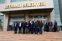 MEHMET KELEŞ - Başkan Keleş Reyhanlı'da Temaslarda Bulundu