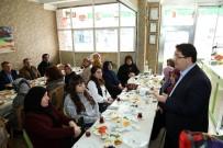 Başkan Yazgı, Kadın Esnaflarla Halkoylaması Hakkında İstişare Yaptı