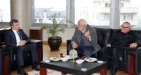 Başkan Yemenici , Şoförler Odası Yönetim Kuruluyla Bir Araya Geldi