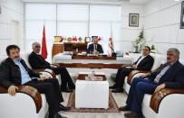 KAYYUM - Bingöl TSO Başkanı Ayas, Elazığ TSO'yu Ziyaret Etti