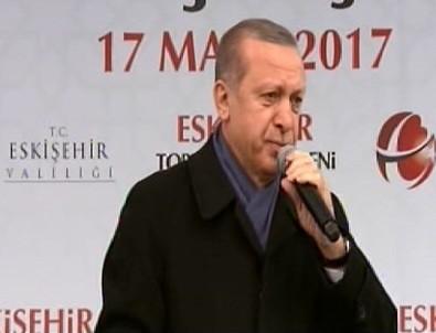 Cumhurbaşkanı Erdoğan: Sıkıysa kipayı da yasaklasana
