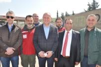 İNSANLIK DRAMI - Düzce Belediyesinden Suriyelilere Yardım