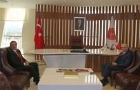 Emniyet Müdürü Artunay NEÜ Rektörü Bağlı'yı Ziyaret Etti