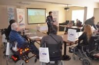 İL SAĞLıK MÜDÜRLÜĞÜ - Engellilere Afet Bilinci Projesi