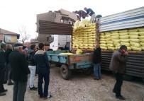 Hisarcık'ta Çiftçiler Yeni Ürün Gübreyi Kapıştı