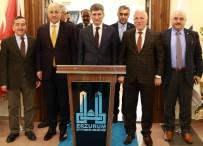 MAHALLİ İDARELER - İçişleri Bakanlığı Müsteşarı İnce Başkan Sekmen'i Ziyaret Etti