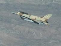 SAVAŞ UÇAĞI - İsrail savaş uçağı düşürüldü