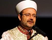 Mehmet Görmez'den ABD'ye tepki
