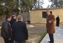 OKUL BİNASI - Nazilli Belediyesi, Anadolu Lisesine Yemekhane Binası Yapıyor