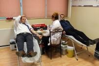 KAN BAĞıŞı - SAMULAŞ'tan Türk Kızılayı'na Kan Bağışı