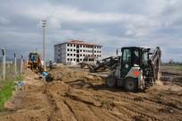 CENGIZ TOPEL - Saruhanlı'nın 9 Sokağına Yeni Altyapı