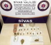 Sivas'ta Uyuşturucu Operasyonu Açıklaması 8 Gözaltı