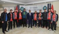 MEZOPOTAMYA - Sporculardan Başkan Atilla'ya Ziyaret