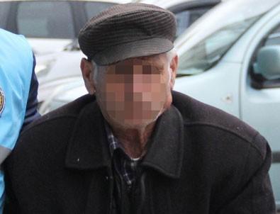 Suriyeli dilenci kızı taciz eden 70'lik dede tutuklandı