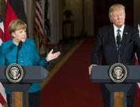 SAĞLIK SİGORTASI - Trump'tan Merkel'e Obama göndermesi