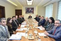 İL BAŞKANLARI - Vali Çakacak, Siyasi Parti İl Başkanlarıyla Bir Araya Geldi