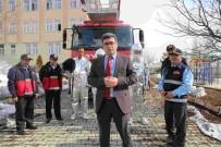 MEHMET NURİ ÇETİN - Varto'da İtfaiye Erlerine Yanmaz Elbise