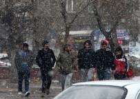 Ardahan'da Sürpriz Kar Yağışı