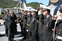 HELIKOPTER - Askeri Gemiler Çanakkale Zaferi İçin Seyre Çıktı