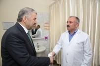 SAĞLIK ÇALIŞANLARI - Başkan Çelik'ten Hastane Ziyareti