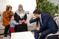 ŞEHİT POLİS - Başkan Fadıloğlu Şehit Ailelerini Ziyaret Etti