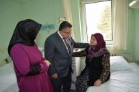 SELIM YAĞCı - Başkan Yağcı'nın Hastane Ziyareti