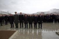 BAYBURT ÜNİVERSİTESİ REKTÖRÜ - Bayburt'ta 18 Mart Çanakkale Zaferi Ve Şehitleri Anma Günü