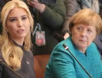 BEYAZ SARAY - Bu kez Merkel'in Ivanka'ya bakışları konuşuluyor