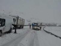 ÇIĞ DÜŞMESİ - Çığ düştü yollar kapandı... Kar yağışı Doğu Anadolu'da etkili oluyor