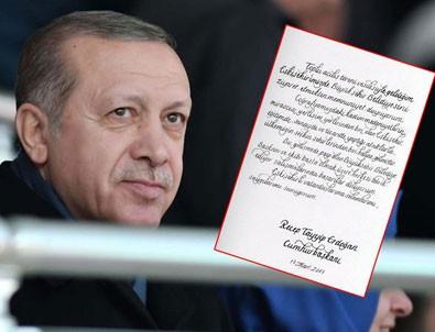 Cumhurbaşkanı Erdoğan'dan Eskişehir Büyükşehir Belediyesi'ne tebrik