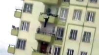 İNTIHAR - Gaziantep'te 16 Yaşındaki Kızın İntiharı Kamerada