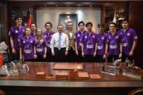 GENÇ MUCİTLER - Genç Mucitler Başkan Ataç'ı Ziyaret Etti